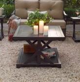Paula Deen Bungalow Porcelain Side Table Home