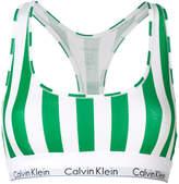 Calvin Klein Underwear striped logo trim bralette