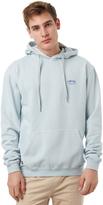 Stussy Pigment Basic Mens Fleece Hood Blue