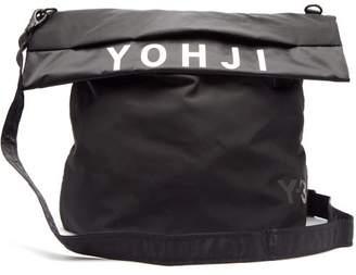Y-3 Y 3 Logo Messenger Bag - Mens - Black