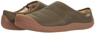 Keen Howser Slide (Black Plaid/Dark Grey) Women's Shoes