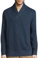 ST. JOHN'S BAY St. John's Bay Long-Sleeve Shawl Pullover Sweater