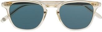 Garrett Leight Square Aviator Sunglasses