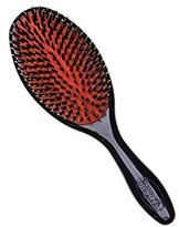 Denman Large Natural Bristle w/Nylon Brush D81L