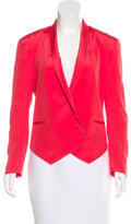 Rebecca Minkoff Silk Button-Up Jacket