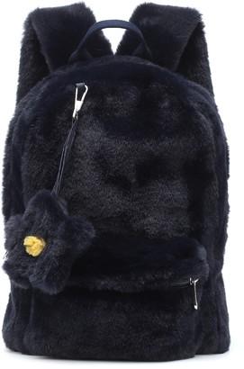 Il Gufo Faux fur backpack