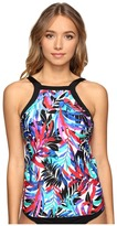 Jantzen Tropic Nights High Neck Tankini Top