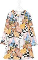 Mini Rodini multi-print dress