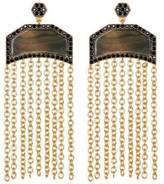 Freida Rothman Two Tone Chain Earring