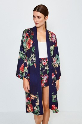 Karen Millen Floral Nightwear Kimono