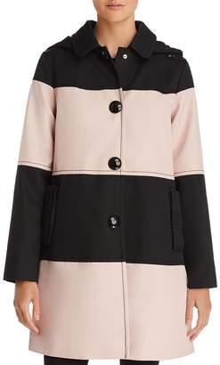 Kate Spade Color-Block Trench Coat
