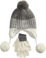 Berkshire 2-Pc. Ombrandeacute; Heidi Hat and Gloves Set, Little Girls and Big Girls