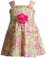 Youngland Baby Girl Ruffle Floral Sundress