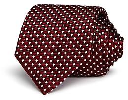 Giorgio Armani Emporio Geometric Pattern Classic Tie