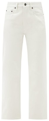 The Row Christie High-rise Straight-leg Jeans - Light Grey
