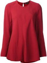 Proenza Schouler long sleeve satin top