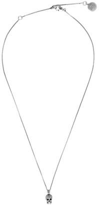 Alexander McQueen Silver Skull Pendant
