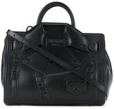 Moschino biker tote - women - Sheep Skin/Shearling - One Size