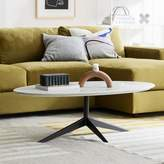 west elm Marlow Oval Coffee Table