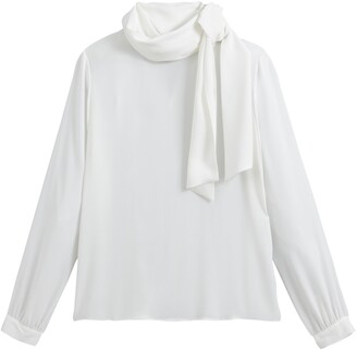 Vanessa Seward X La Redoute Collections Pussy Bow Blouse