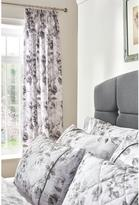 Dorma Watery Rose Lined Pencil Pleated Curtains