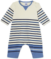 Petit Bateau Baby boys heavy jersey all-in-one