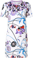 Emilio Pucci embroidered short sleeve dress