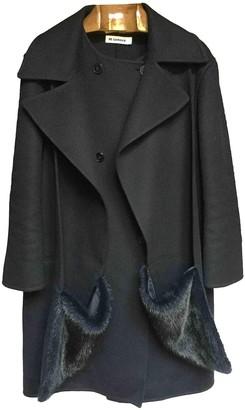 Jil Sander Blue Cashmere Coat for Women