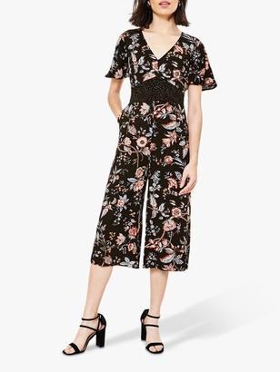 Oasis Patched Floral Print Jumpsuit
