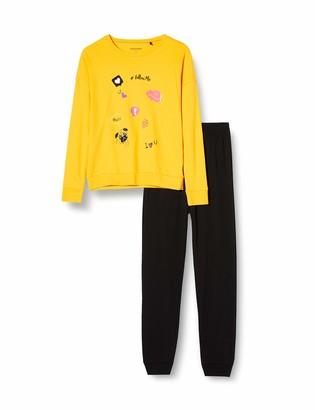 Schiesser Girl's Schlafanzug Lang Pajama Set