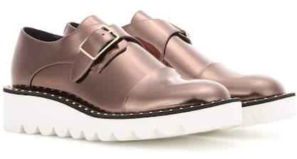 Stella McCartney Odette metallic monk shoes