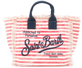 Mc2 Saint Barth Kids - small Addicted to Paradise canvas bag - kids - Cotton - One Size