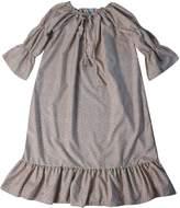 Making Believe Womens Chemise Peasant Dress