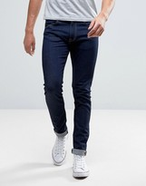 Edwin ED-85 Slim Tapered Drop Crotch Jean Rinsed Wash