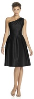 Alfred Sung D458 Bridesmaid Dress in Black