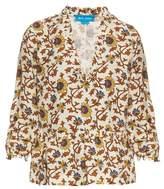 MiH Jeans Miller floral-print V-neck top
