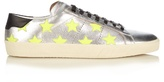 Saint Laurent Star-embellished Low-top Leather Trainers