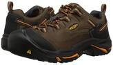 Keen Braddock Low Soft Toe (Cascade Brown/Orange Ochre) Men's Industrial Shoes