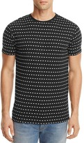 Soulland Fernell Embroidered Pattern Tee