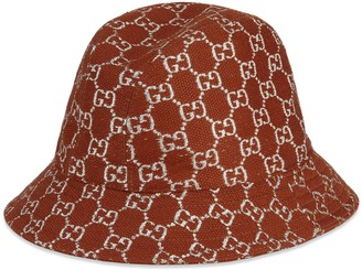 Gucci GG lame bucket hat