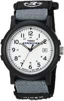 Timex Men's T49713 Expedition Camper Analog Quartz Black/White Watch