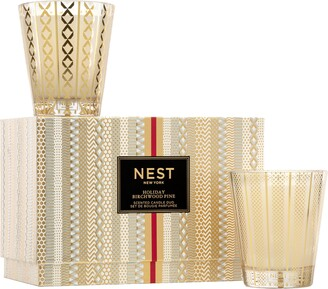 NEST New York NEST Fragrances Holiday & Birchwood Pine Scented Candle Set