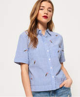 Superdry Kayla Cropped Boxy Shirt