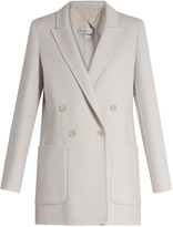 Max Mara Double-faced double-breasted jacket
