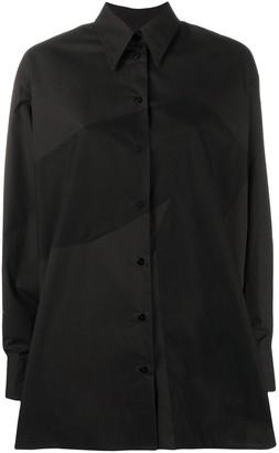 MM6 MAISON MARGIELA Oversized Button-Up Shirt