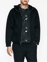 Calvin Klein Platinum Nylon Pique Hooded Jacket