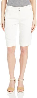 Magaschoni Women's Linen Shorts