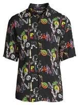 Camicia Manica Short-Sleeve Button-Down Shirt