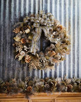Mackenzie Childs MacKenzie-Childs Large Precious Metals Wreath