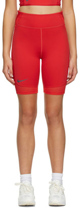 Nike Red City Ready Bike Shorts